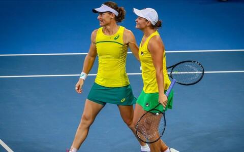 Austraaliale võidu toonud Samantha Stosur ja Ashleigh Barty