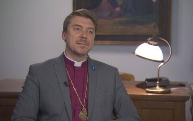 Head of the EELK Archbishop Urmas Viilma.