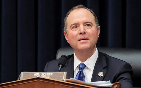 Demokraat Adam Schiff.