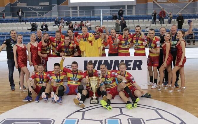 Balti liiga võitis neljandat aastat järjest Riihimäe Cocks.