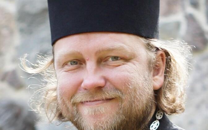 Fr Sakarias Leppik of the Estonian Apostolic Orthodox Church (EAOK).