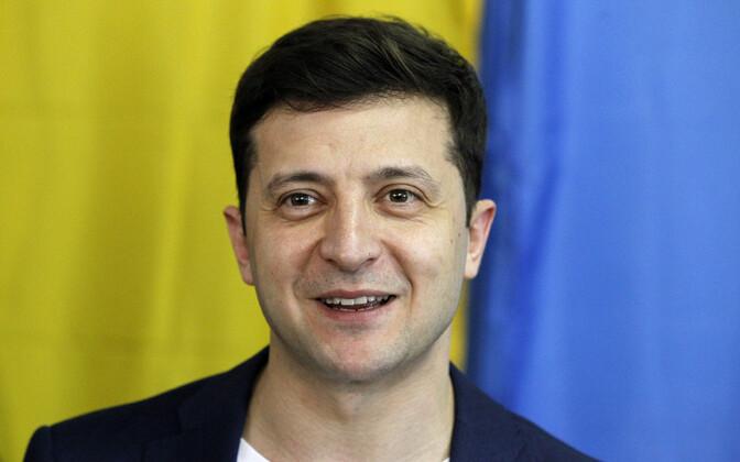 Владимира Зеленского во втором туре поддержали как в самой Украине, так и в Эстонии.