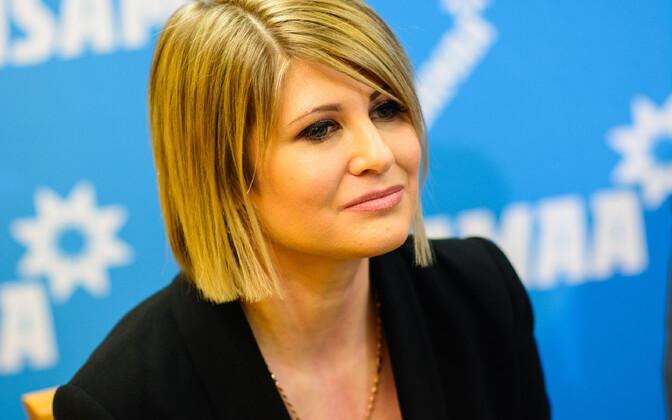 Виктория Ладынская-Кубитс выступает не против коалиции, а против риторики EKRE.