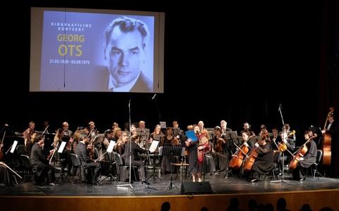 Концерт в честь эстонского певца Георга Отса.