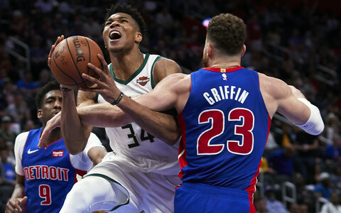 Detroit Pistons - Milwaukee Bucks