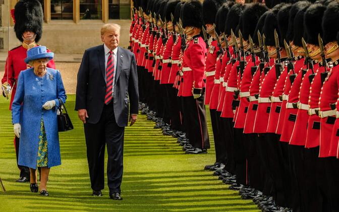 Дональд Трамп посетит Великобританию 3-5 июня.