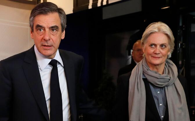François ja Penelope Fillon 2017. aastal.