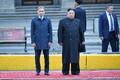 Venemaa Kaug-Ida arengu minister Aleksandr Kozlov ja Põhja-Korea liider Kim Jong-un Vladivostokis