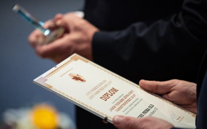 Estonian Food Association announcing the best food in Estonia
