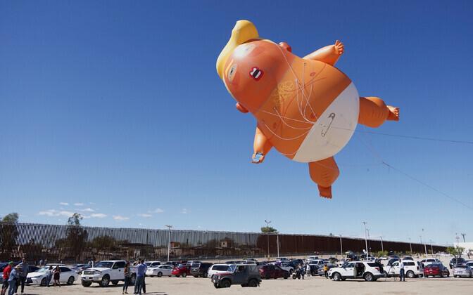 Beebi-Trumpi õhupall