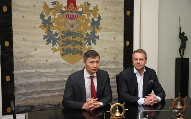 Михаил Кылварт и Ян Вапаавуори