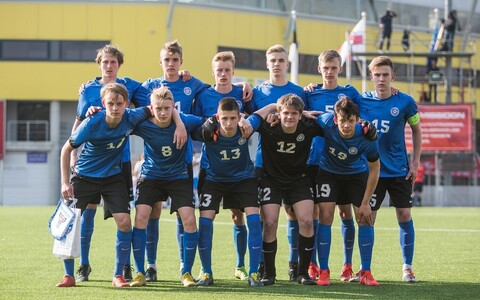 Eesti U-17 noormeeste jalgpallikoondis
