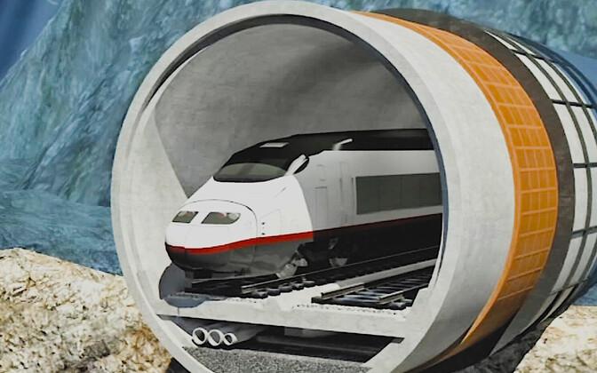 Туннель Таллинн-Хельсинки.