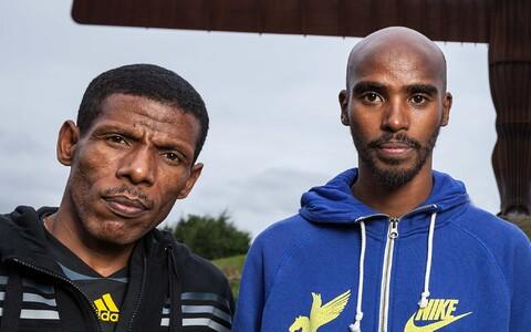 Haile Gebrselassie ja Mo Farah