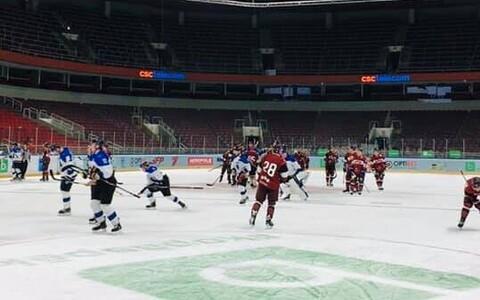 Eesti - Läti kontrollmäng MM-i eel