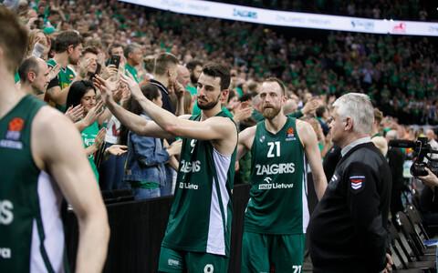 Vaatamata sellele, et Kaunase Žalgiris kaotas tänas publik oma meeskonda