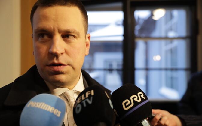Юри Ратас рад, что Андрей Коробейник усилит центристов.