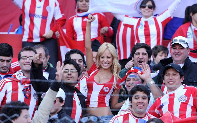 Paraguailased saavad sageli rõõmustada oma jalgpallikoondise üle