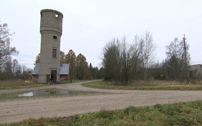 Veetorn Munalaskmel, kuhu rajatakse observatoorium.
