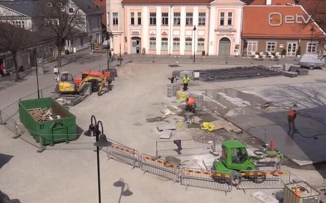 Kuressaare kesklinna renoveerimine.
