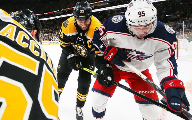 Matt Duchene värav tõi Bostonile teisel lisaajal võidu