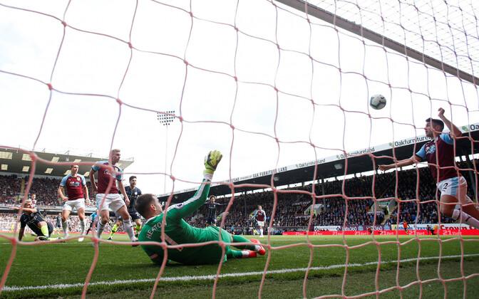 Manchester City napp värav Burnley vastu