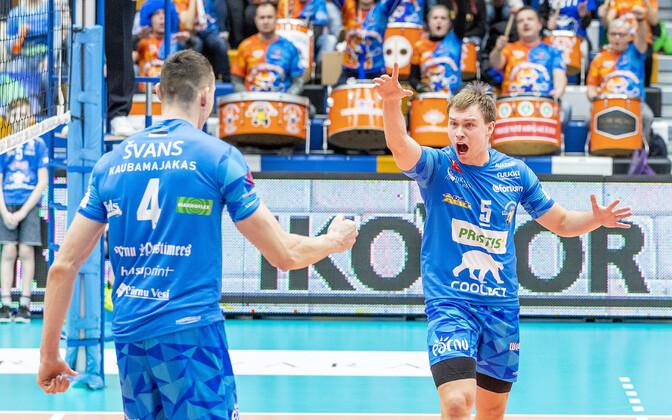 Пярнуские волейболисты - чемпионы Эстонии 2019.
