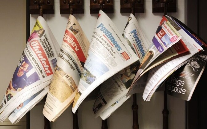 Estonian newspapers (picture is illustrative).