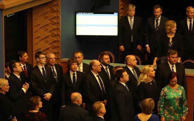 Esmaspäeval andis Jüri Ratase uus valitsus ametivande
