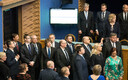 New coalition ministers taking Riigikogu oath on Monday, April 29. They are all to select,  or have already selected, advisers from the pool of civil servants.