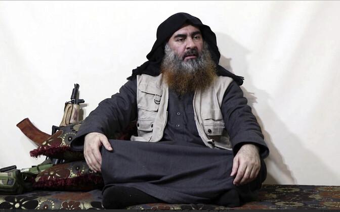 ISIS-e juht Abu Bakr al-Baghdadi 29. aprillil avaldatud propagandavideos.