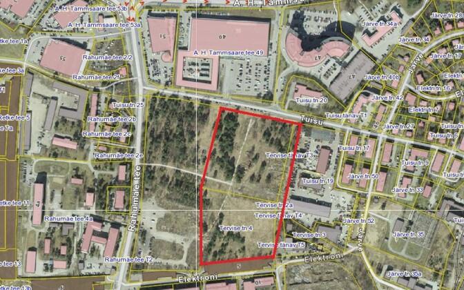 Проданные участки недвижимости на карте Земельного департамента.