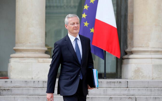 Prantsusmaa rahandus- ja majandusminister Bruno Le Maire.