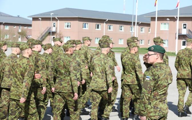 1. jalaväebrigaadi tagalapataljon tähistas 102. sünnipäeva ja sai uue ülema.