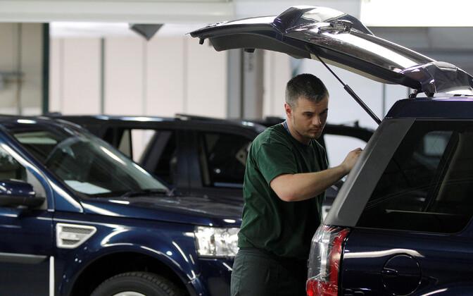 Jaguar Land Roveri tehas Liverpoolis.