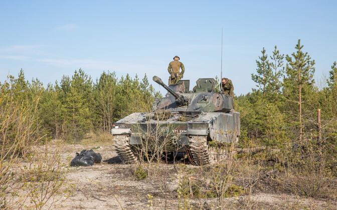 Balti pataljon Kevadtormil.