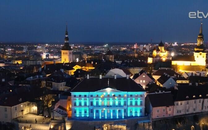 Дом Стенбока - резиденция Правительства Эстонии.
