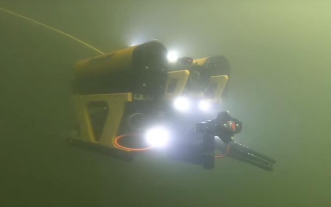 Подводный робот.