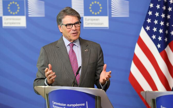 USA energeetikaminister Rick Perry Brüsselis.