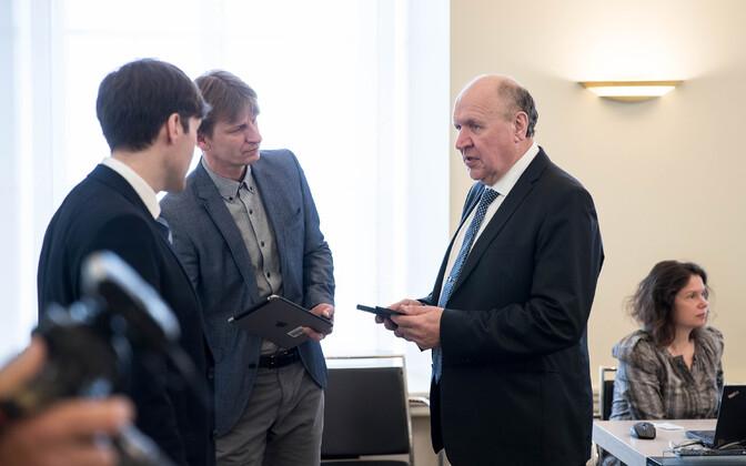 Mart Helme valitsuse istungi eel