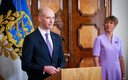 President Kersti Kaljulaid appointed Madis Müller the next governor of the Bank of Estonia. May 3, 2019.