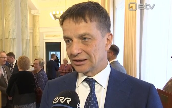 Outgoing Bank of Estonia Governor Ardo Hansson.