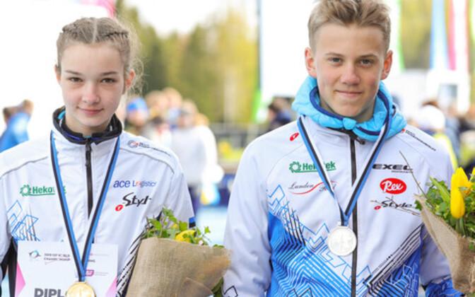 Brigitte Panker ja Olle Ilmar Jaama