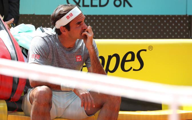 Roger Federer Madridis.