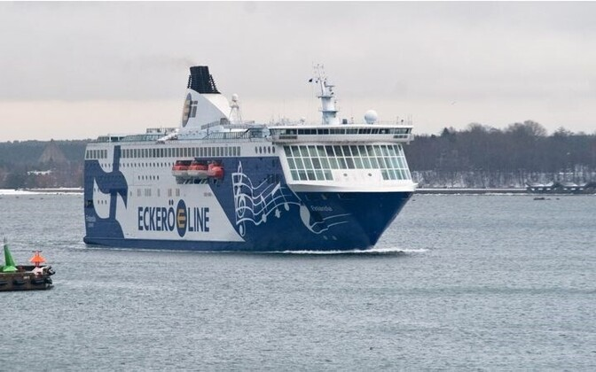 Eckerö Line's MS Finlandia. The shipper is adding a second ship to its Tallinn-Helsinki operations this year.