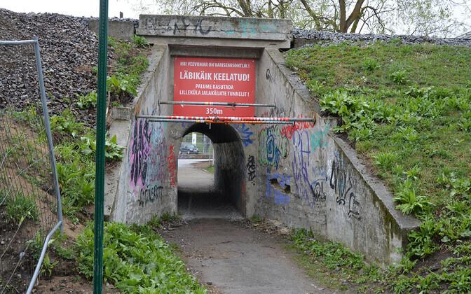 Туннель на улице Котка.