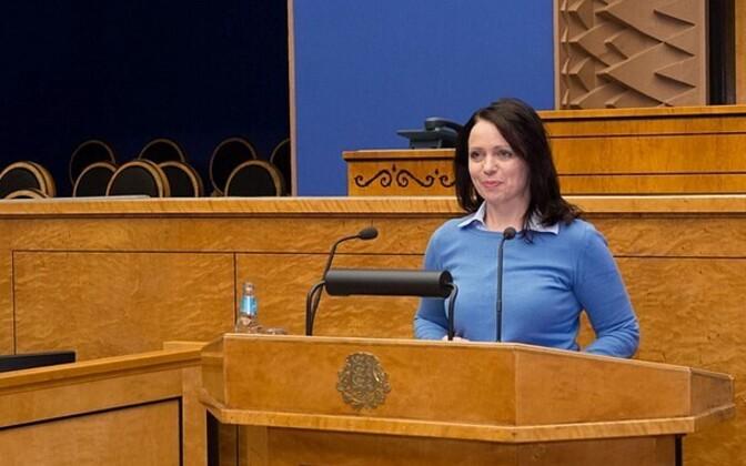 Anneli Ott (Centre), Riigikogu EU Affairs Committee chair.