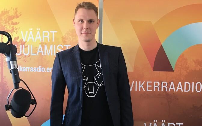 MP Raimond Kaljulaid spoke on Vikerraadio's