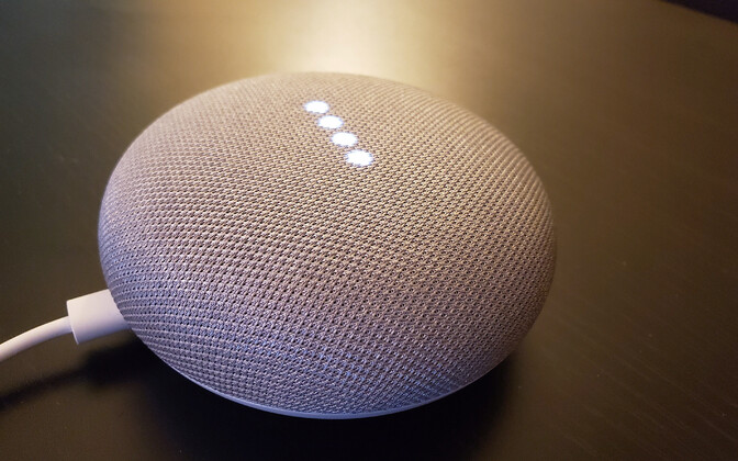 Google Home'i nutikõlar.