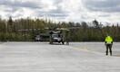 Kevadtormil osaleb kaks Ameerika Ühendriikide maaväe kopterit.